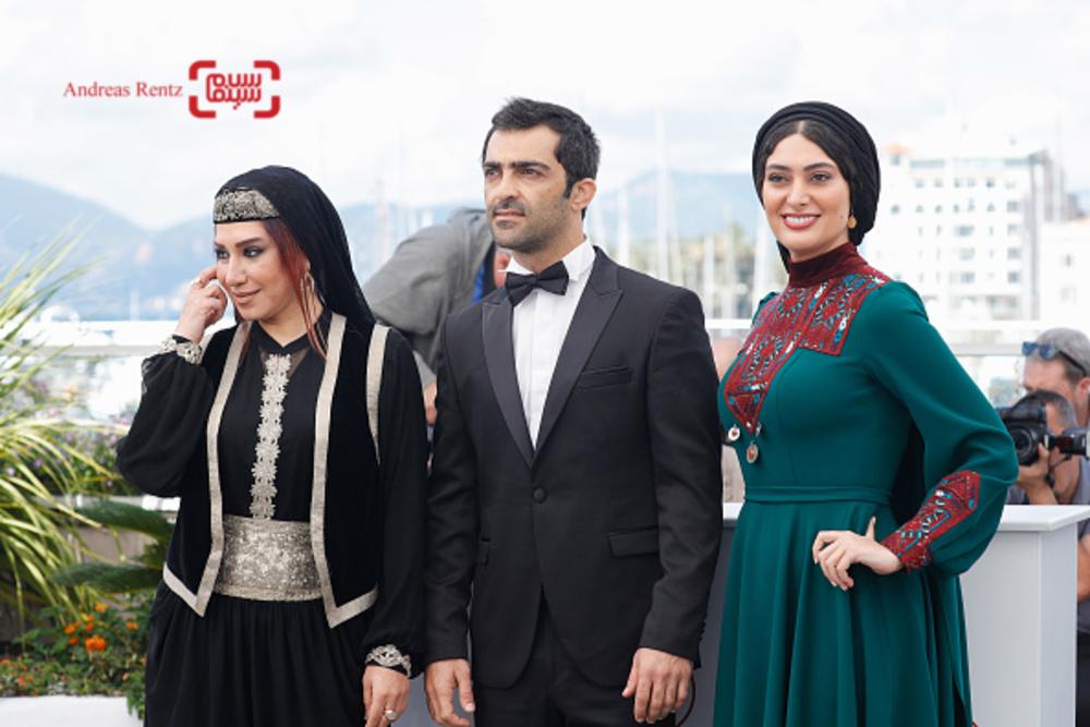 سودابه بیضایی، رضا اخلاقی راد و نسیم ادبی در فتوکال «لرد» در جشنواره کن2017