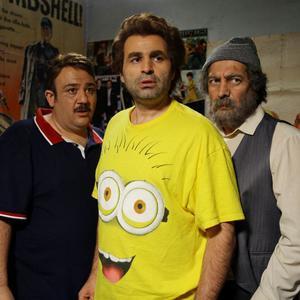 مهران غفوریان، مجید صالحی و علی مشهدی در فیلم «ما خیلی باحالیم»
