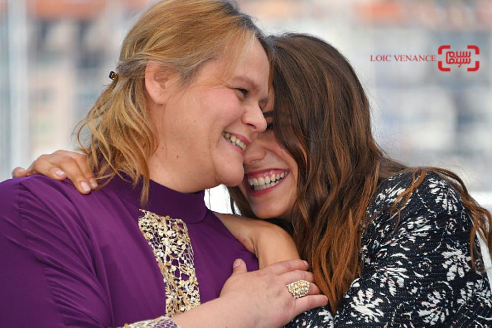 ایزیا و سورین کنیل در فتوکال فیلم «رودن»(Rodin) در جشنواره فیلم کن 2017