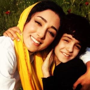 گلشیفته فراهانی و علی شادمان در پشت صحنه فیلم «میم مثل مادر»