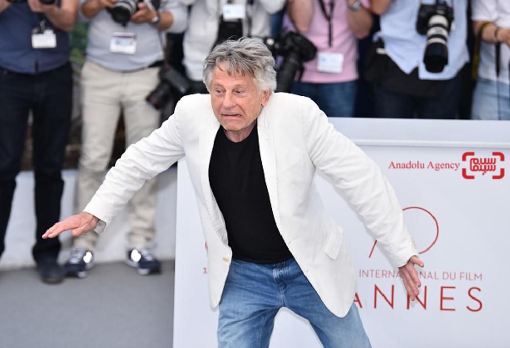 رومن پولانسکی در فتوکال «براساس یک داستان واقعی»(Based on a True Story) در جشنواره فیلم کن 2017