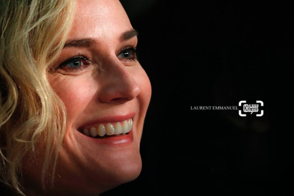 دایان کروگر در نشست خبری فیلم «در ناپدیدی»(In the Fade) در جشنواره فیلم کن 2017