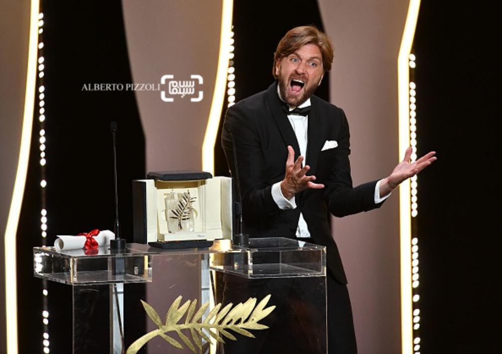 روبن اوستلوند برنده جایزه نخل طلا برای فیلم «مربع» در جشنواره کن 2017