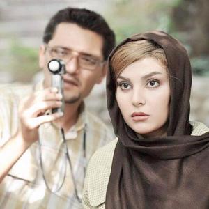 سارا سهیلی در پشت صحنه فیلم «گشت ارشاد»