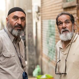 سعید سهیلی و حمید فرخ نژاد در پشت صحنه فیلم «گشت 2»