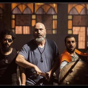 ساعد سهیلی، حمید فرخ نژاد و پولاد کیمیایی در فیلم «گشت 2»
