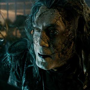 خاویر باردم در فیلم «دزدان دریایی کارائیب 5: مرده ها قصه نمی گویند»