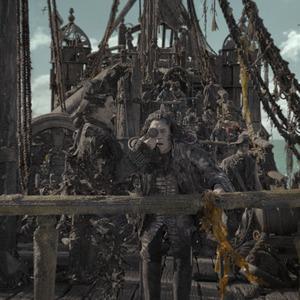 خاویر باردم در فیلم سینمایی «دزدان دریایی کارائیب 5: مرده ها قصه نمی گویند»