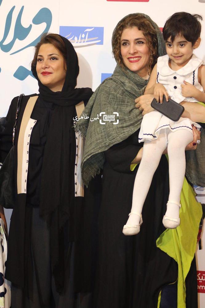 طناز طباطبایی و ویشکا آسایش در اکران مردمی فیلم سینمایی «ویلایی ها» در سینما آزادی