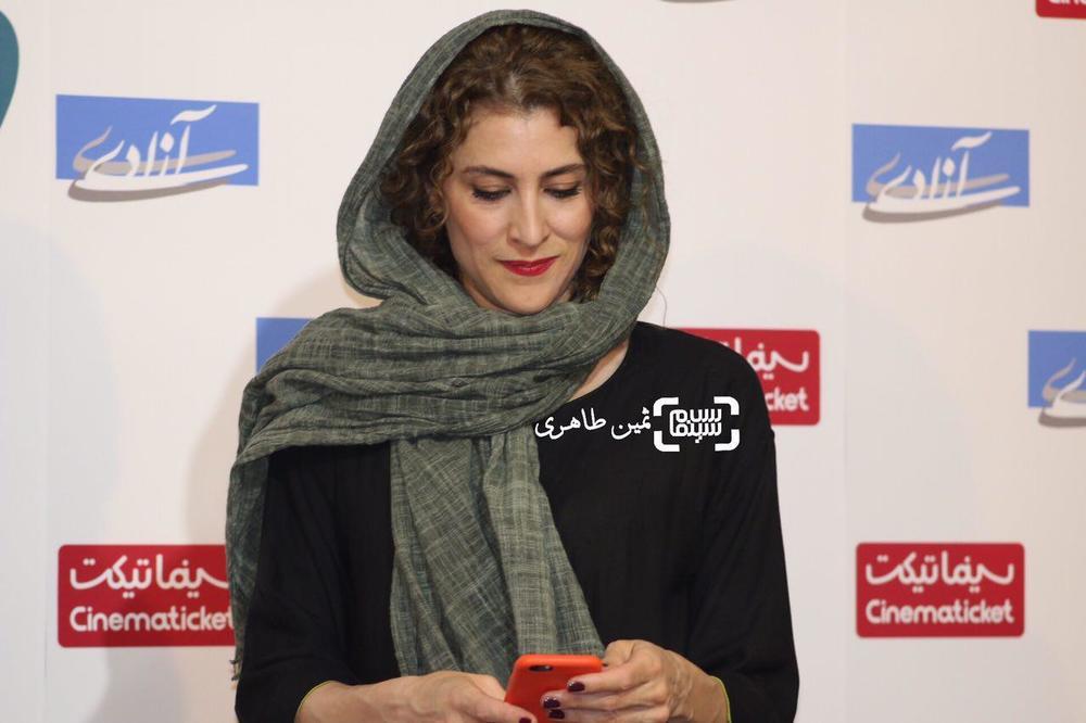 ویشکا آسایش در اکران مردمی «ویلایی ها» در سینماآزادی
