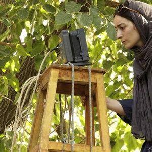 سهیلا گلستانی در پشت صحنه فیلم «دو»