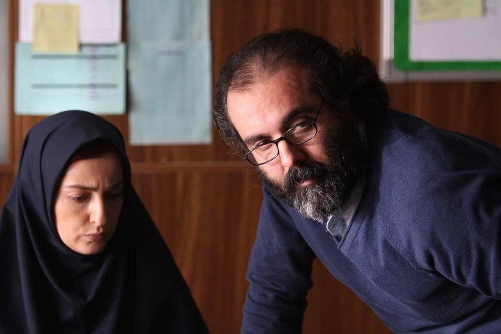 حامد محمدی و شقایق دهقان در پشت صحنه فیلم «اکسیدان»