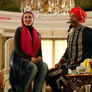 لیلا بلوکات و محمدرضا هدایتی در فیلم «آس و پاس»