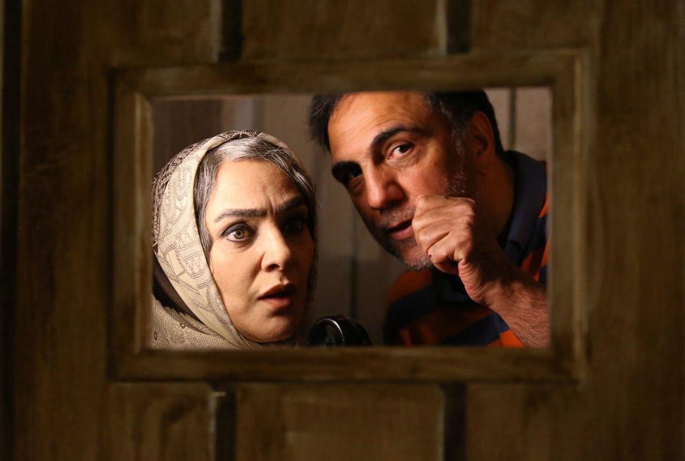 حسن فتحی و رویا نونهالی در پشت صحنه فصل دوم «شهرزاد»