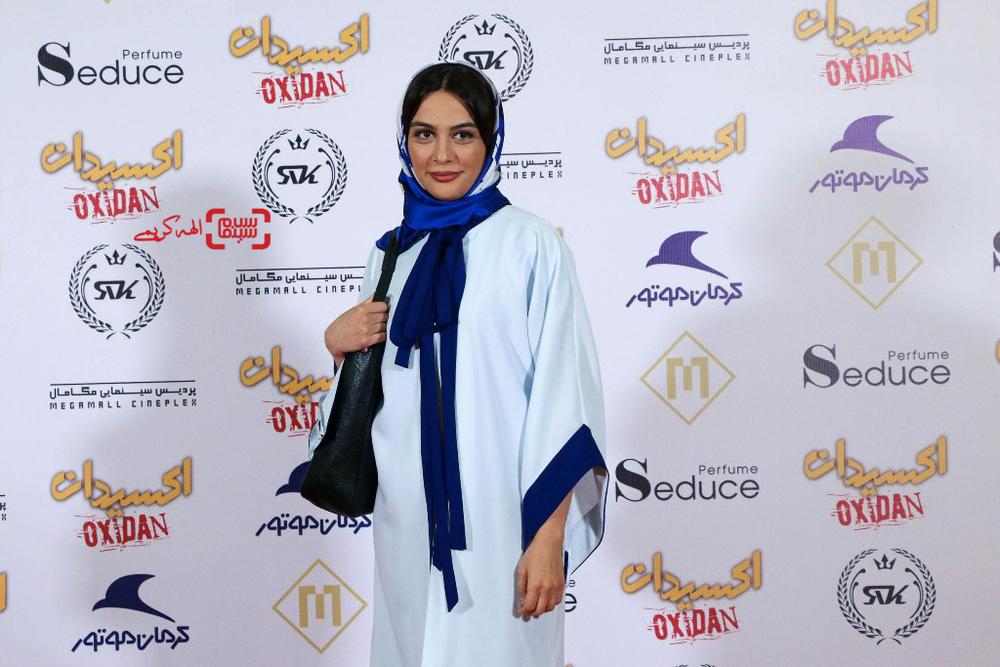 مارال فرجاد در اکران خصوصی فیلم «اکسیدان»