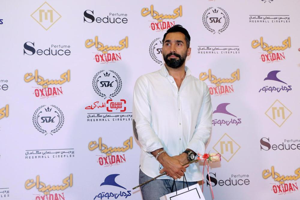 هادی کاظمی در اکران خصوصی فیلم «اکسیدان»
