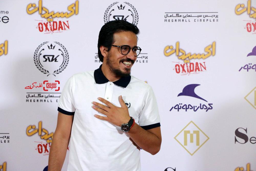 حسین سلیمانی در اکران خصوصی فیلم «اکسیدان»