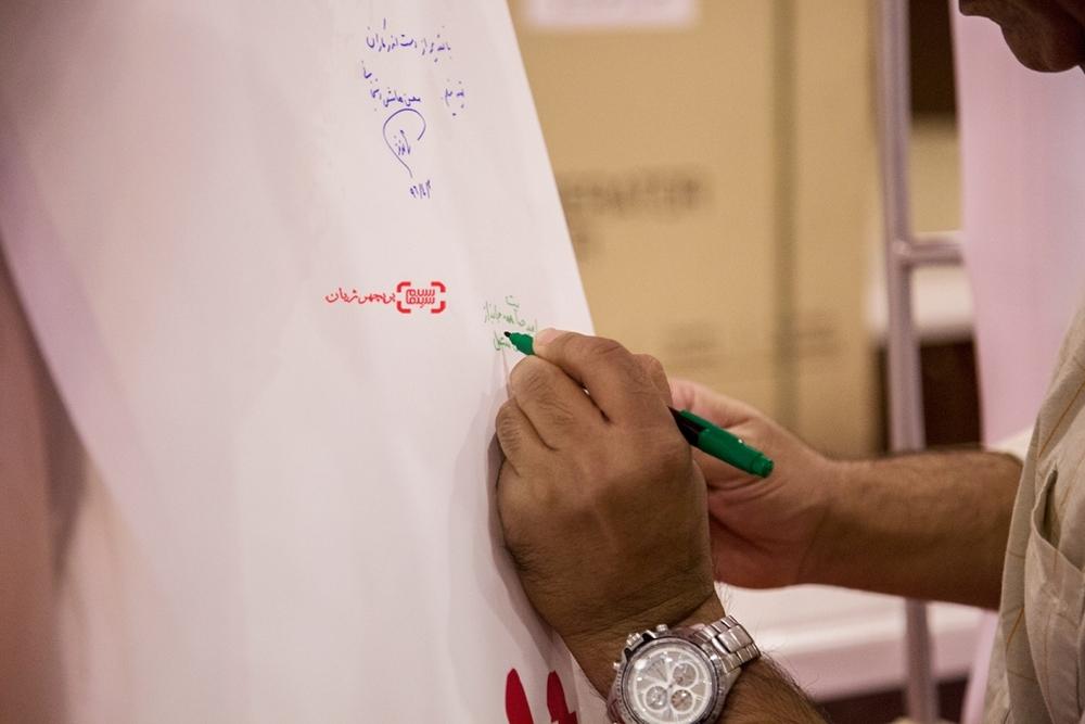 محمدرضا هدایتی در اکران خصوصی فیلم سینمایی «مالیخولیا»