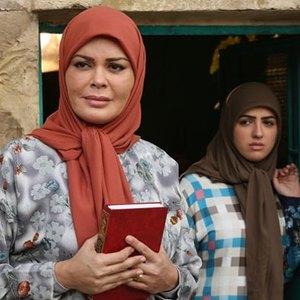 کارمن لبس در نمایی از فیلم ابوزینب ساخته علی غفاری