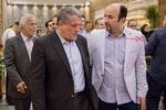محسن هاشمی رفسنجانی و مرتضی آتش زمزم در اکران خصوصی فیلم «مالیخولیا»