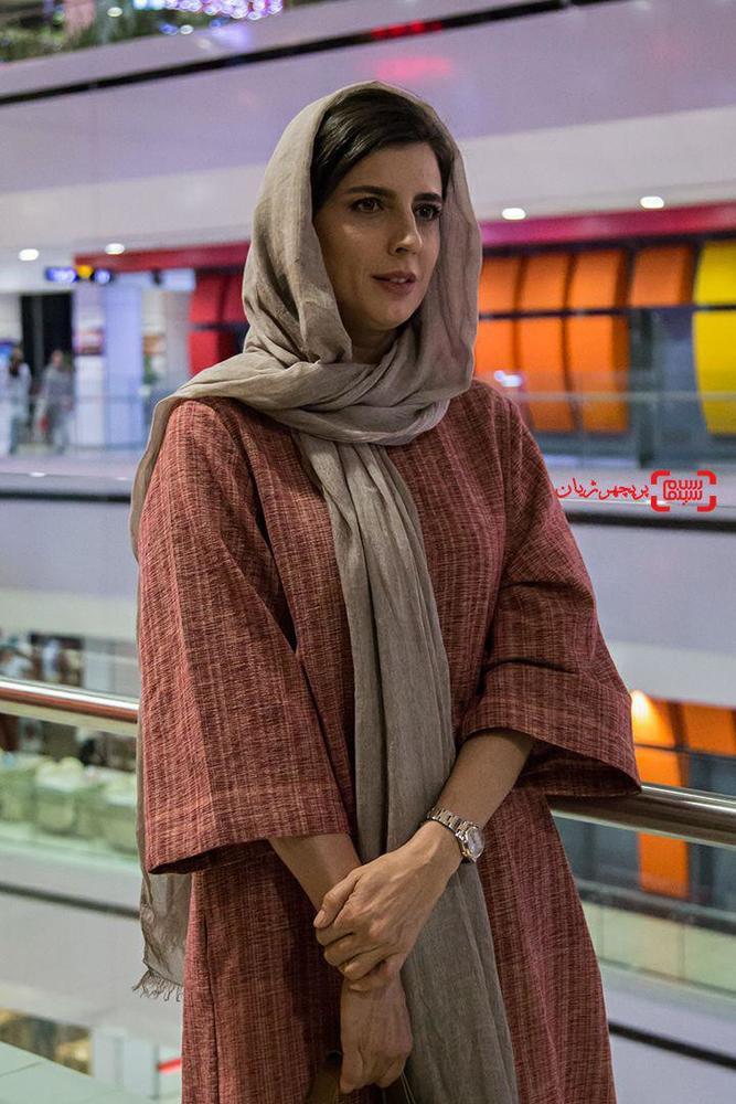 لیلا حاتمی در اکران مردمی فیلم «رگ خواب»