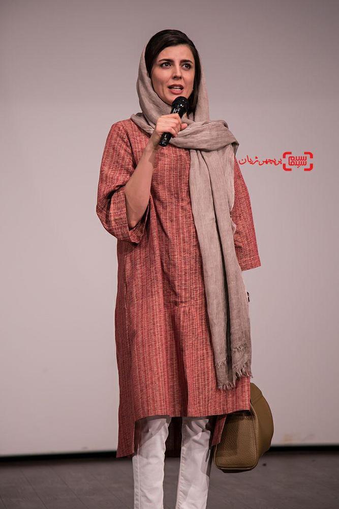 لیلا حاتمی در اکران مردمی فیلم سینمایی «رگ خواب»