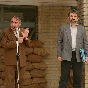 حبیب رضایی و سیامک انصاری در فیلم «بمب یک عاشقانه»