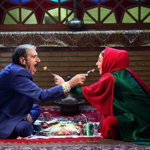 رضا ناجی و بهنوش بختیاری در فیلم «پا تو کفش من نکن»