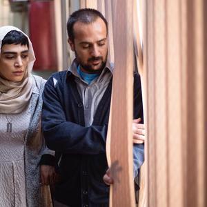 احمد مهران فر و اندیشه فولادوند در فیلم «راه رفتن روی سیم»
