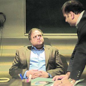 هومن برق نورد در فیلم «راه رفتن روی سیم»
