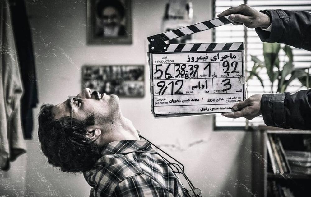 مهدی زمین پرداز در پشت صحنه فیلم «ماجرای نیمروز»