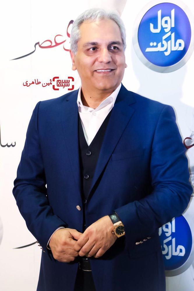 مهران مدیری در اکران خصوصی فیلم «ساعت ٥ عصر»
