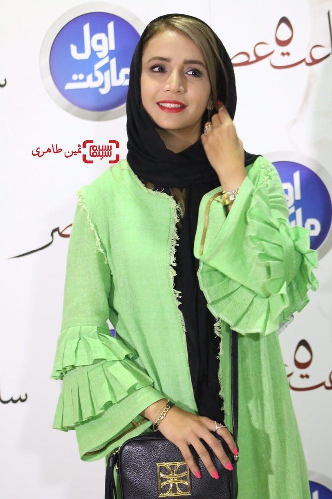 شبنم قلی خانی در اکران خصوصی فیلم «ساعت ٥ عصر»