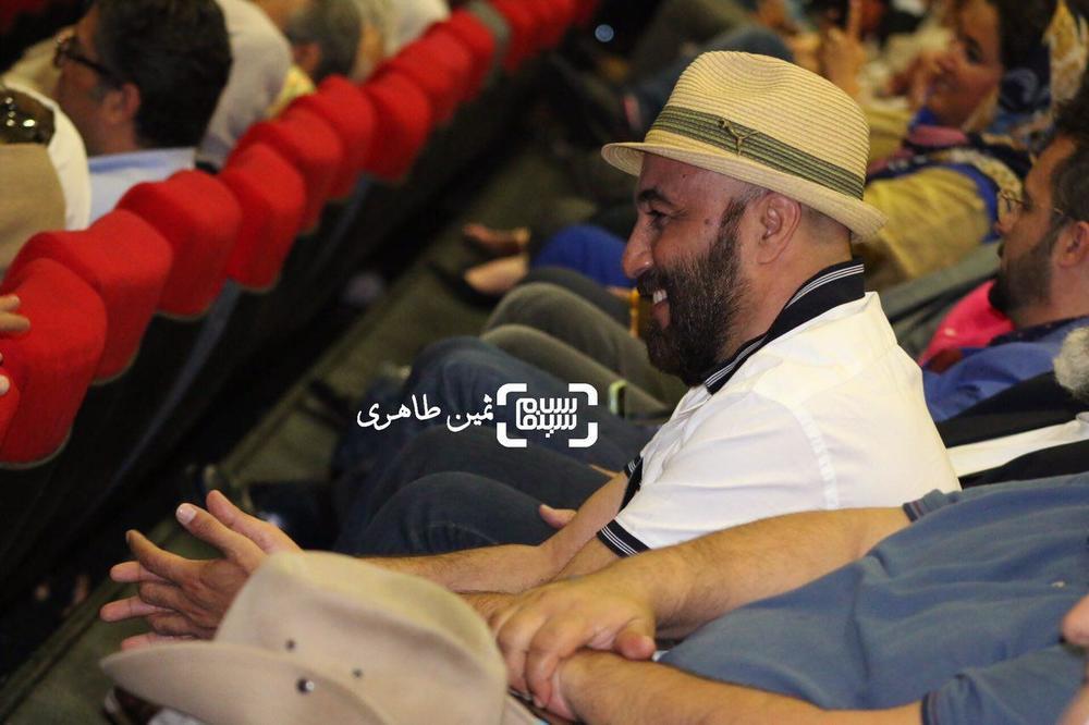 رضا عطاران در اکران خصوصی فیلم «ساعت ٥ عصر»