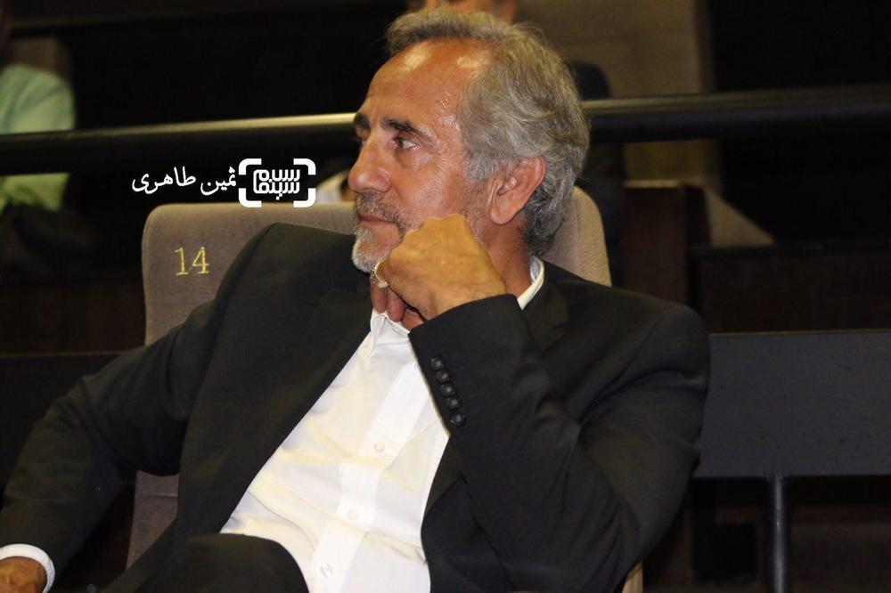 مجید مظفری در اکران خصوصی فیلم «ساعت ٥ عصر»