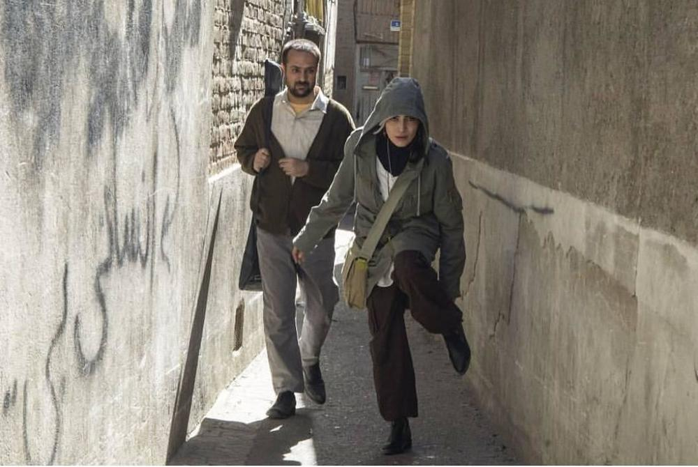 احمد مهران فر و اندیشه فولادوند در فیلم سینمایی «راه رفتن روی سیم»