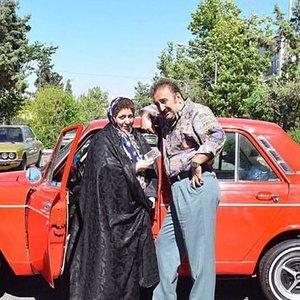 مهران احمدی و شهره لرستانی بازیگران فیلم «هزارپا»