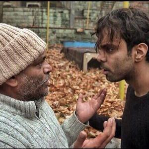 مهدی ماهانی و نادر فلاح در فیلم «طاقباز»