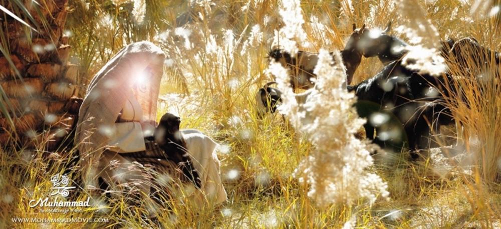نمایی از فیلم محمد رسول الله(ص) ساخته مجید مجیدی