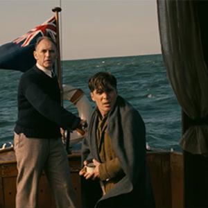 مارک رایلنس و کیلین مورفی در فیلم «دانکرک»(Dunkirk)