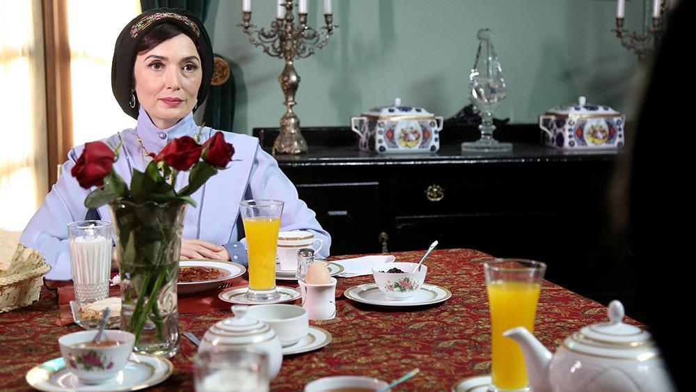 آتنه فقیه نصیری در قسمت پنجم سریال نمایش خانگی «شهرزاد 2»
