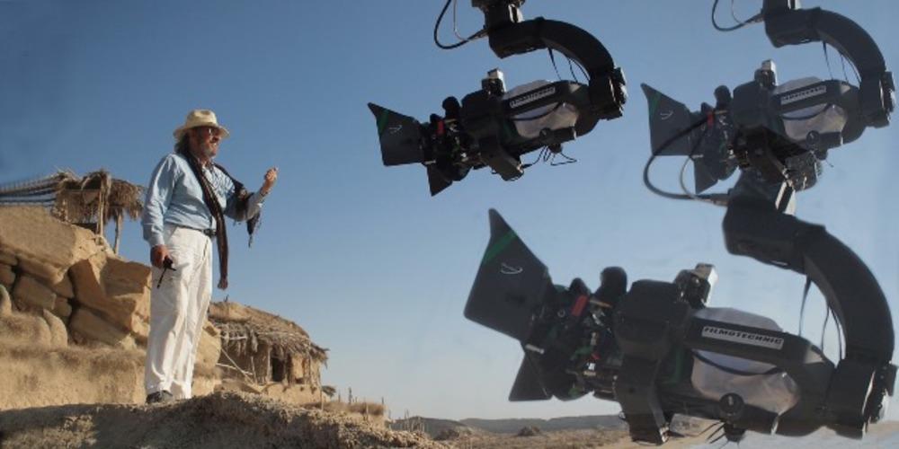 ویتوریو استرارو (Vittorio Storaro) در پشت صحنه فیلم محمد رسول الله (ص)