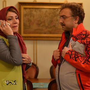 مجید صالحی و شبنم مقدمی در سریال نمایش خانگی «ابله»