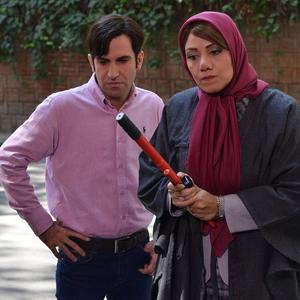 هوتن شکیبا و شبنم مقدمی در سریال نمایش خانگی «ابله»