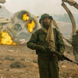ساموئل ال جکسون در فیلم «کونگ: جزیره جمجمه»(Kong: Skull Island)