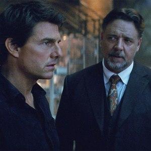تام کروز و راسل کرو در فیلم «مومیایی»(The Mummy)