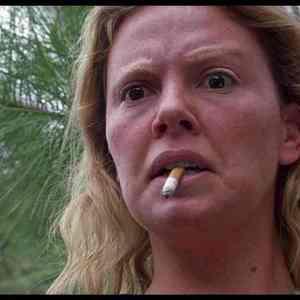 شارلیز ترون در نمایی از فیلم «هیولا»(Monster)