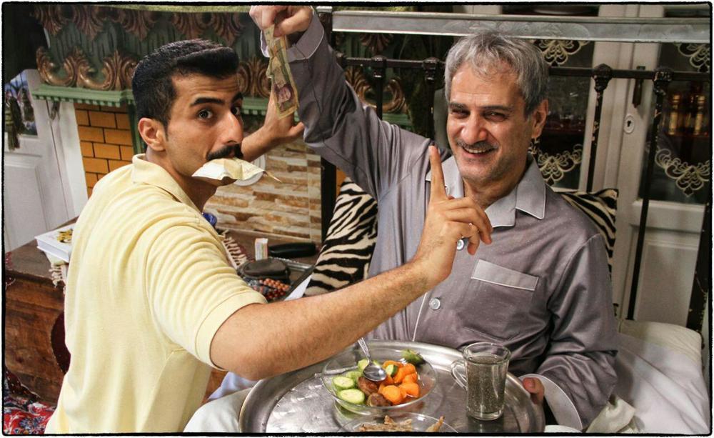 ناصر هاشمی و علیرضا جعفری در فیلم «خانه دیگری»