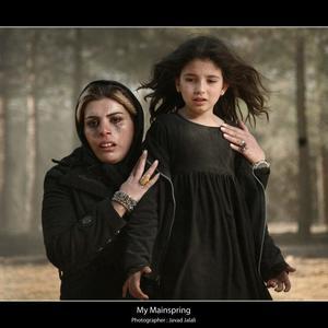 مریم ضیایی و مژگان بیات فیلم «پریناز»