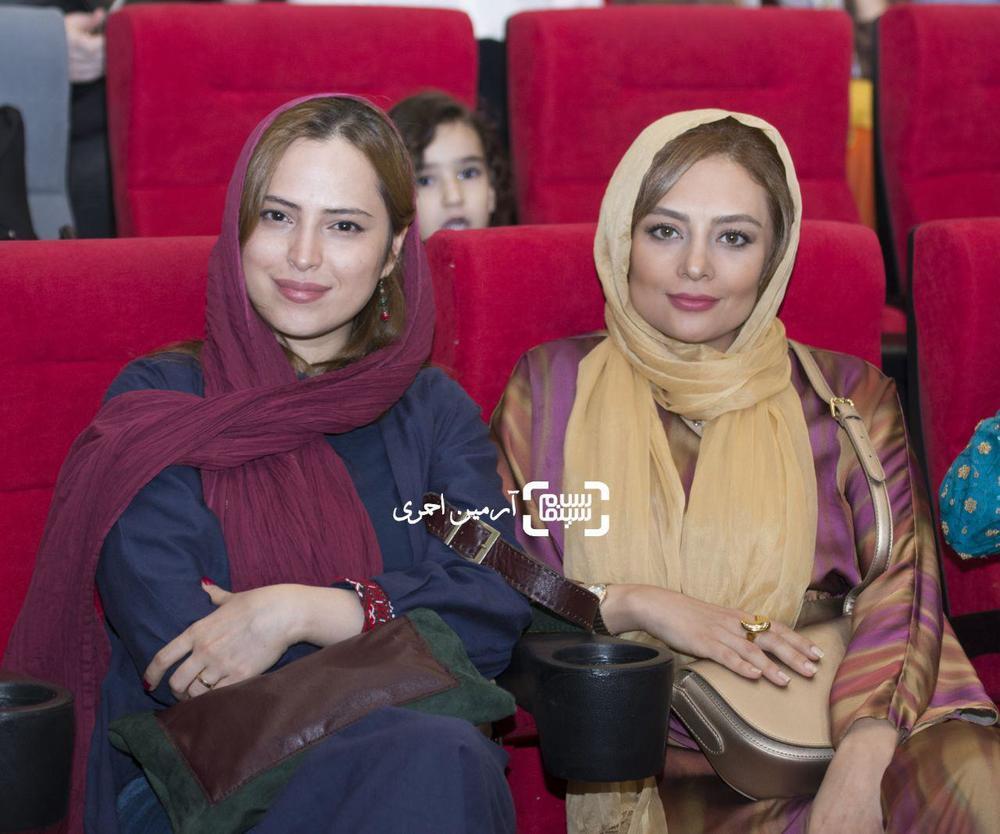یکتا ناصر و شیرین اسماعیلی در اکران خصوصی فیلم «فصل نرگس»
